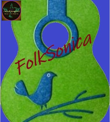 Brand image and name for folk music song list